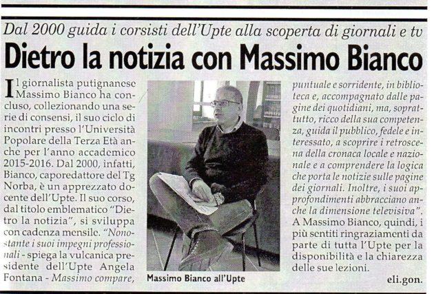 M. Bianco su Fax