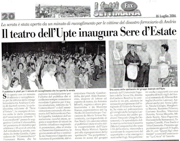 Sere d'Estate 2016