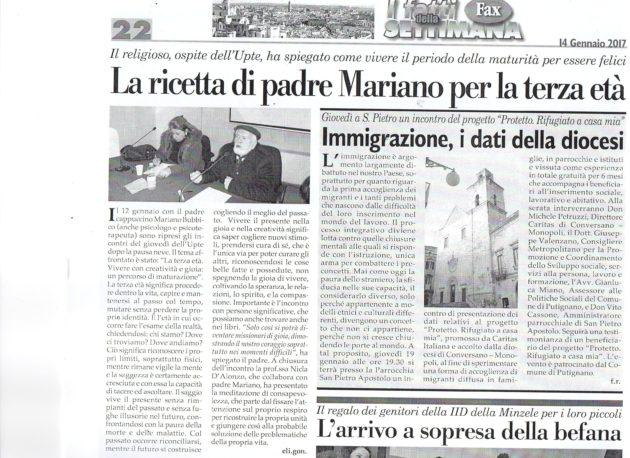 Padre Mariano su Fax