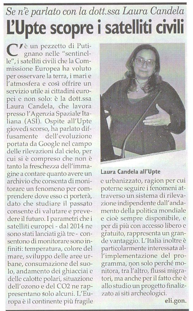 Laura Candela su Fax del 22 aprile 2017