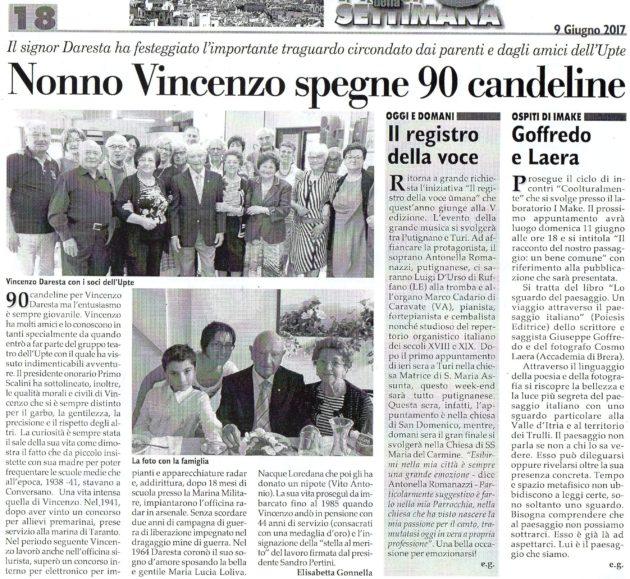 90 anni di V. Daresta