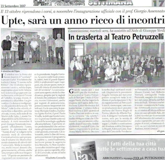 Programma e Petruzzelli su Fax del 23 settembre 2017