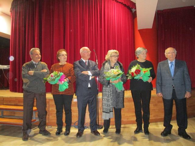 Premiazione nonni d'oro 2017