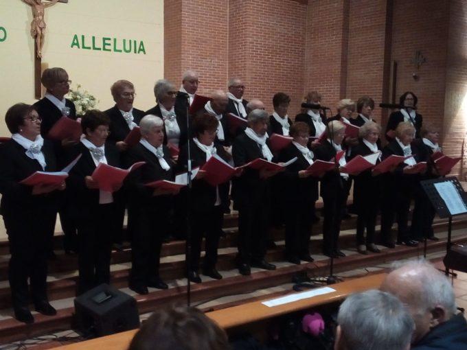 Esibizione del nostro coro UPTE a Mola