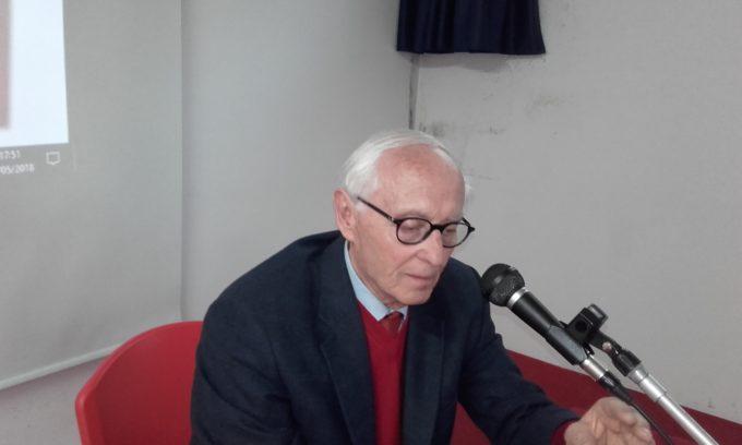 """Presentazione del """"Ventennale"""" da parte del prof. Scalini"""