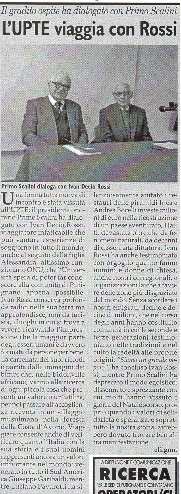 Rossi-Scalini su Fax del 19 gennaio 2019