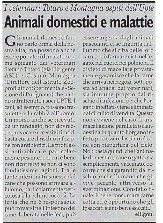 Dott.ri Totaro e Montagna su Fax del 2 marzo 2019