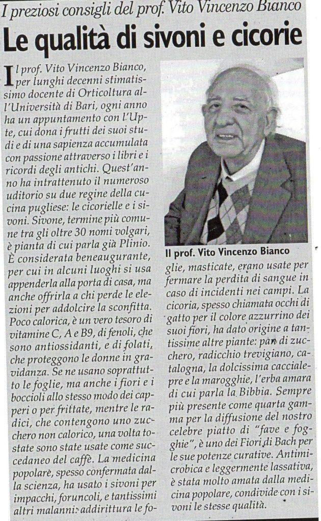 prof. Bianco su Fax del 30 marzo 2019
