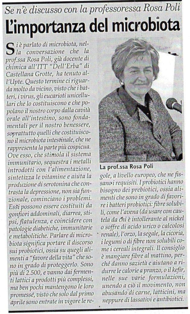 prof.ssa Poli su Fax del 6 aprile 2019