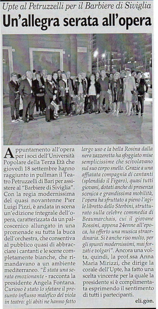 Barbiere di Siviglia su Fax del 21 settembre 2019