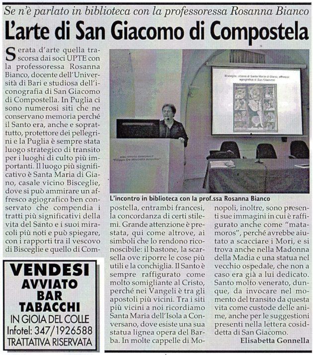 Prof.ssa Bianco su Fax del 16 novembre 2019