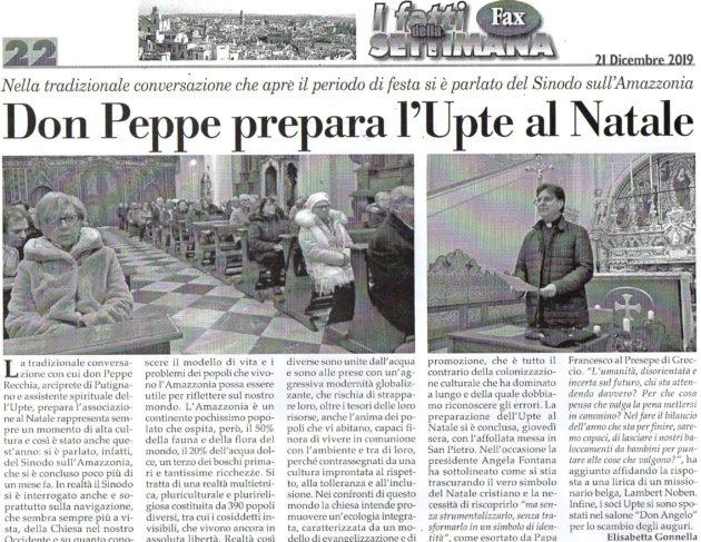 Don Peppe su Fax del 21 dicembre 2019