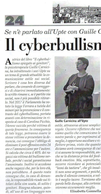 Dott.ssa Carnicina su Fax del 14 dicembre 2019