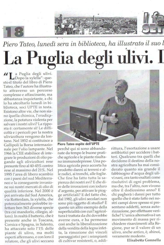 Piero Tateo su Fax del 1° febbraio 2020