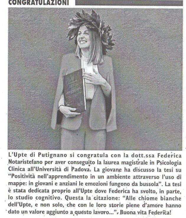 Federica Notaristefano su Fax del 27 giugno 2020