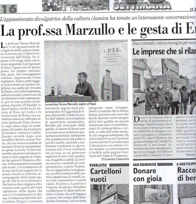 Prof.ssa Marzullo su Fax del 17 aprile 2021