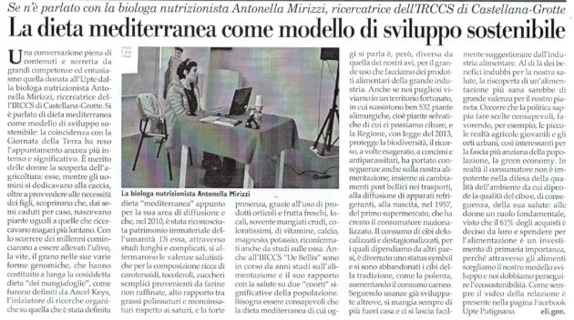 Dott.ssa Mirizzi su Fax dell'1 maggio 2021
